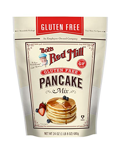 Bob#039s Red Mill Gluten Free Pancake Mix 24 Ounce Pack of 1