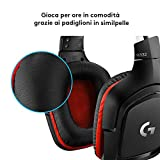 Zoom IMG-2 logitech g332 cuffie gaming cablate