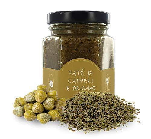 La Nicchia Pantelleria Pâté di capperi e origano di Pantelleria, spalmabile - vasetto 100g