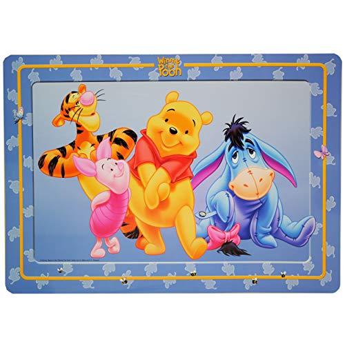 alles-meine.de GmbH Unterlage - Winnie The Pooh - Tischunterlage Schreibtischunterlage Bär Tigger - Puuh Platzdeckchen - Esel I-Ahh Ferkel Platzset - Kinder Mädchen Jungen