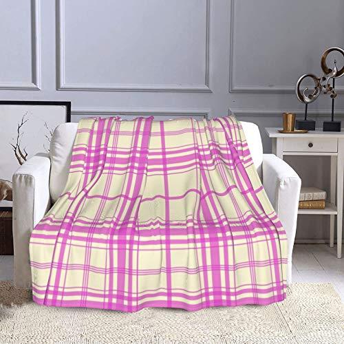 KCOUU Couverture polaire 127 × 152 cm Funfetti et Sugar Plaid douillet et chaud Couverture décorative pour canapé, lit, canapé, voyage, maison, bureau, toutes saisons