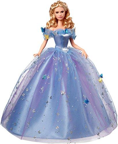 Mattel CGT56 - Disney Princess Ballkleid Cinderella Puppe