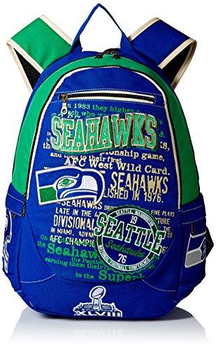 Mochila de arte histórica Seattle Seahawks