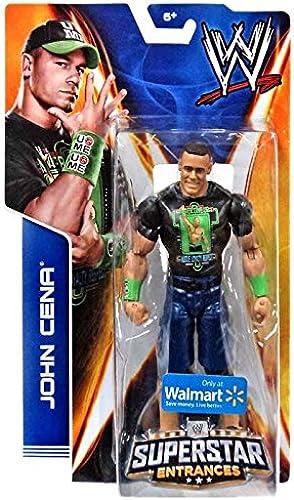 Más asequible Mattel WWE Wrestling 2014 Exclusive Superstar Entrances Action Figure Figure Figure John Cena [Never Give Up T-Shirt]  mejor servicio