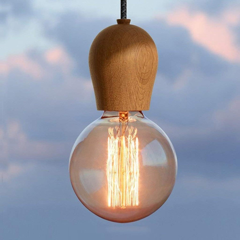 GCCI Single Head Holz Kronleuchter Bar Restaurant Stil Lampe Lichter Japanischen Kreativen Balkon des Korridors der Beleuchtung der Lichter der Farbe Auswhlen (A)