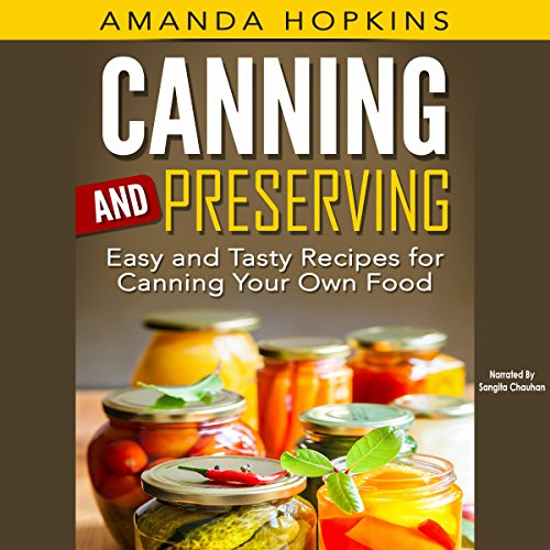 Canning and Preserving audiobook cover art