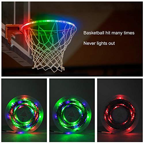 Find Discount ldcx Basketball Hoop Light Led Net Light Rim Kit