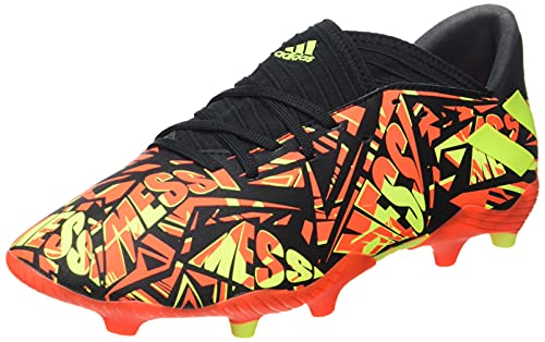 adidas Nemeziz Messi .3 FG J, Zapatillas de fútbol, Rojsol/Amasol/NEGBÁS, 36 EU