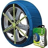 DRIVETEX4X4-47 - Kit compuesto por 2 fundas- cadenas textiles turismos DRIVETEX hielo/nieve talla 4x4-47, compatible con...