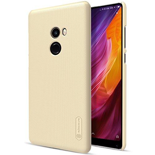Funda® Fermezza Smartphone Custodie + 1 Schermo Protettore per Xiaomi Mi MIX 2(Oro)
