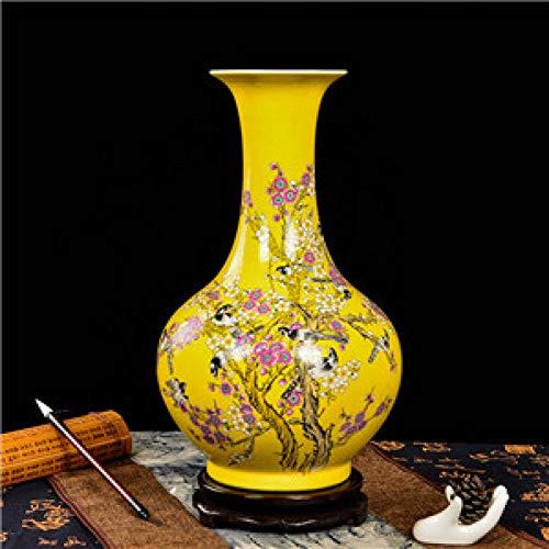 ZYG222 Keramische antieke vaas vloer vaas woonkamer huishoudelijke artikelen geschenken huisdecoratie ambachten