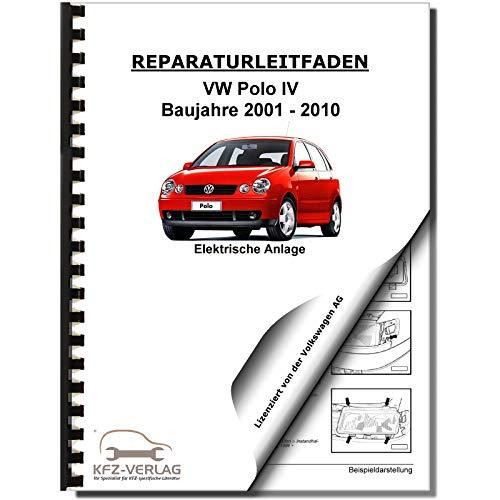 VW Polo 4 Typ 9N (01-10) Elektrische Anlage Elektrik Systeme Reparaturanleitung