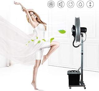 Jyfsa Grande Ventilador Industrial Ventilador de la fábrica Soplador Multifunción Ventilador eléctrico Ventilador de Piso para la casa Comercial, 3 Engranajes 10 Horas, 42 litros de Capacidad