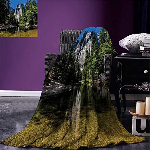 Blanket Manta Ligera De Yosemite Acantilado De Granito