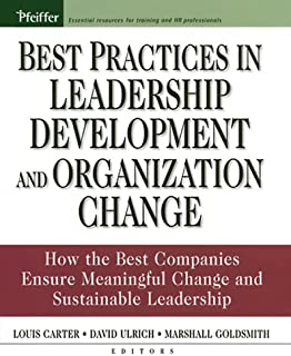 Best Practices in Leadership Development and Organization Change: How the Best Companies Ensure Meaningful Change and Sustainable Leadership (J-B US non-Franchise ... Leadership Book 245) (English Edition)
