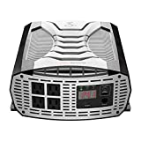 Cobra CPI3000W Portable Power Inverter – 3000 Watt Car Charger, 4 Grounded AC Outlets, 2 Fast Charge USB Ports and Remote On/Off...