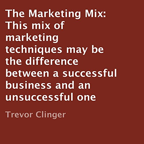 The Marketing Mix cover art
