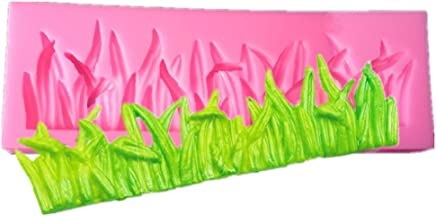 Kisweet Grass Shape Silicone Candy Molds Chocolate Mold Cake Cupcake Side Decoration Tools
