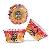 Dekora - Patrulla Canina Capsulas Cupcakes con Diseño Canina - 25 Unidades