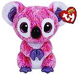 Ty - Kacey, Peluche Koala, 15 cm, Color Rosa (36149TY)