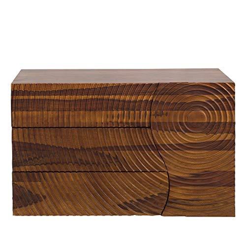 Riess Ambiente Massives Sideboard Illusion 120cm Sheesham Handarbeit Kommode Board Anrichte Wohnzimmerschrank