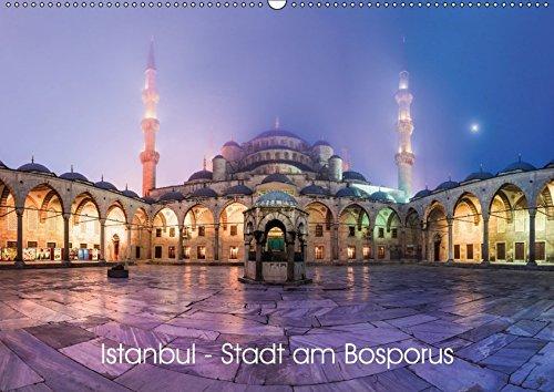 Istanbul - Stadt am Bosporus (Wandkalender 2017 DIN A2 quer): Istanbul, die Pforte zwischen Europa und Asien in 13 ausgewählten Motiven (Monatskalender, 14 Seiten ) (CALVENDO Orte)