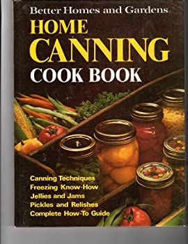 Hardcover Better Homes and Garden Home Canning Cook Book