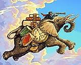 Murturall 1000 Piezas Rompecabezas De Madera Vuelo Viaje Elefante Patrón Aceptar Personalizado