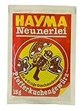 Hayma Neunerlei Pfefferkuchengewürz, 15 g