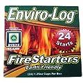 Fleming Sales Fleming 10008 Sales Enviro Log Fire Starter-24 Count