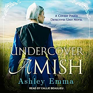 Undercover Amish audiobook cover art
