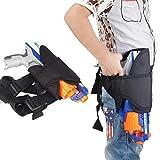 Pawaca Gun Kit Ceinture avec sangle de jambe pour les enfants pour Nerf Guns N-Strike Elite Series Blaster