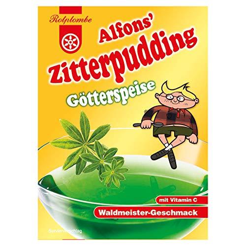 Rotplombe Alfons Zitterpudding Götterspeise Waldmeister 2er Pack - Ostwaren