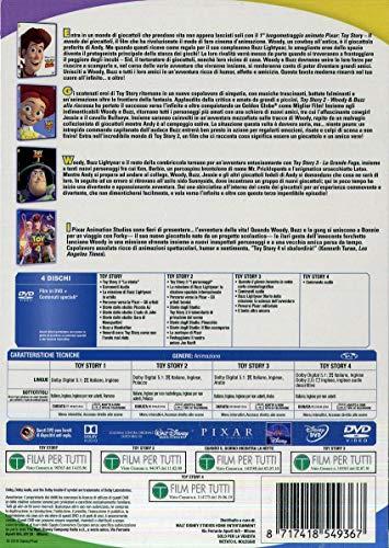 Cofanetto Toy Story 1, 2, 3, 4 dvd (4 DVD)