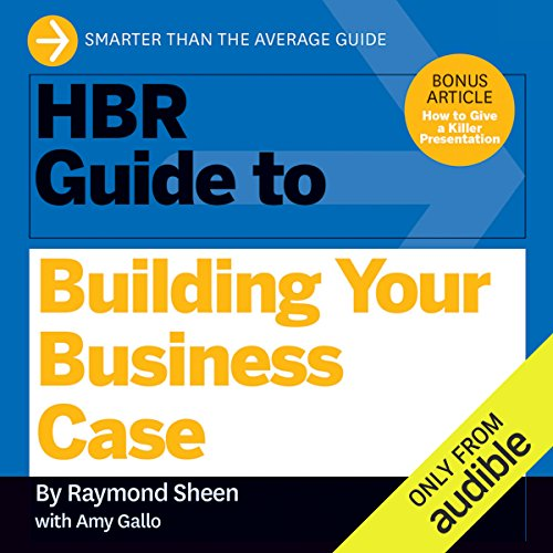 HBR Guide to Building Your Business Case Titelbild