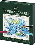 Faber-Castell 117538 - Estuche estudio con 36 ecolápices acuarelables, multicolor