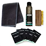 Wilkins Shoe Cleaner Sneakers Kit - Includes Shoe Cleaner Solution, Suede Brush, Shoe Wipes and Waffle Weave Microfiber Towel