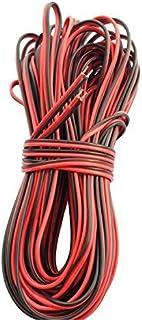LitaElek 20m 2ピン22ゲージAWGフレキシブル電線延長ケーブルSMD 3528 2835 5050 5630単色LEDテープライトおよびその他の電化製品