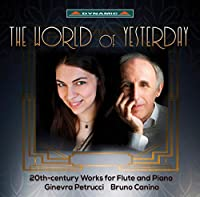 YESTERDAY'S WORLD-昨日の世界 ~20世紀のフルートとピアノのための作品集