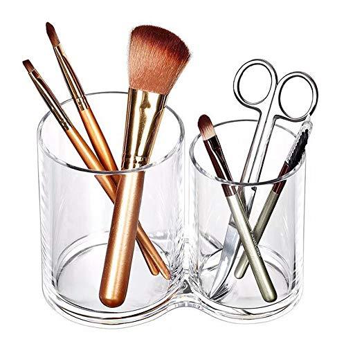 Porte-pinceau de maquillage Stockage acrylique porte-brosse de rangement de bureau sac de rangement cosmétique stockage de rouge à lèvres Séchoir