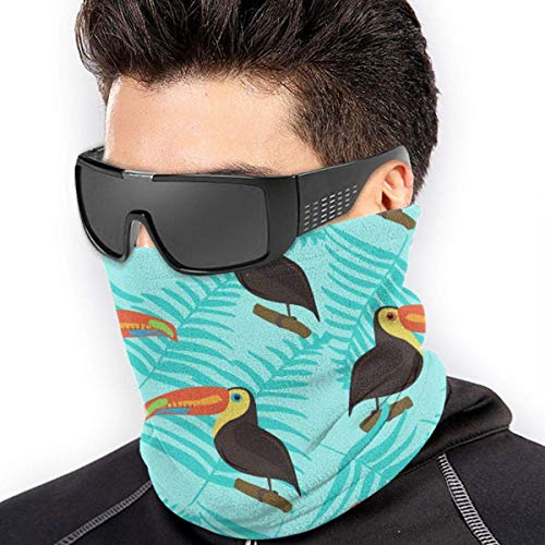 LisaArticles Sport Face Guard,Protector Facial De Cola Blanca Dear Animals Wildlife, Pasamontañas Decorativas para El Cuello para Gym Running Riding,26x30cm