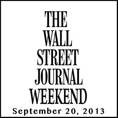 Weekend Journal 09-20-2013 audiobook cover art
