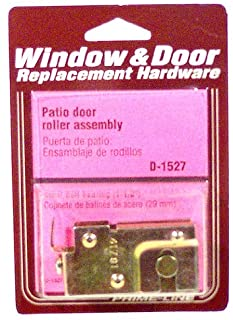 Prime-Line Products D 1527 Sliding Door Roller Assembly, 1-1/8-Inch Steel Ball Bearing