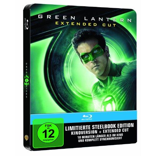 Green Lantern Steelbook Extended Cut [Blu-ray]