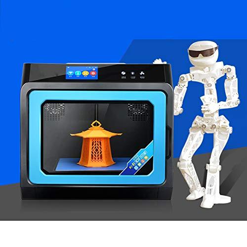 Intelligent Printer 3D Industrielle, Mise À Niveau Automatique, 4,3 Pouces À Écran Tactile, La Plate-Forme Magnétique, Levage Rack, Impression Taille 230 * 220 * 200mm