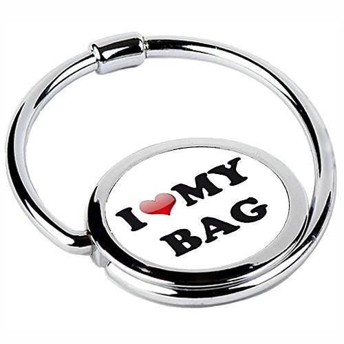 MISS KHA - Accroche Sac Pliable I Love My Bag