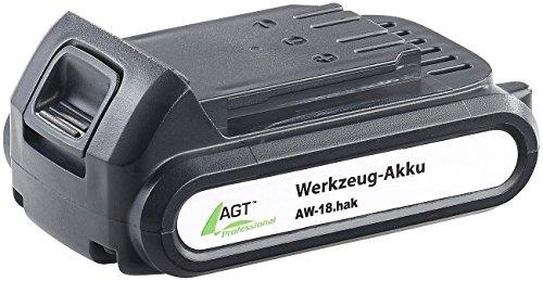 AGT Professional Li-Ion-Werkzeug-Akku AW-18.ak, 18 V/2000 mAh