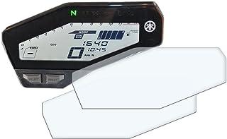 2X Yamaha MT 09 / FZ 09 Displayschutzfolie Tachoschutzfolie Screen Protector   Anti Glare