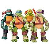 ZHANGH 4 Adolescentes Mutantes Ninja Tortugas 4,8 Pulgadas Figura...