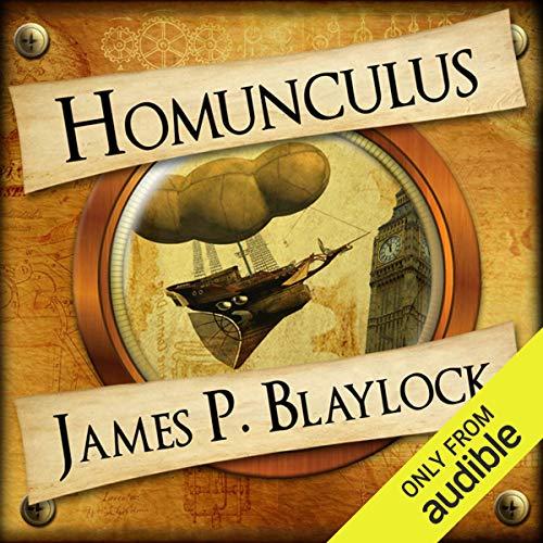 Homunculus audiobook cover art